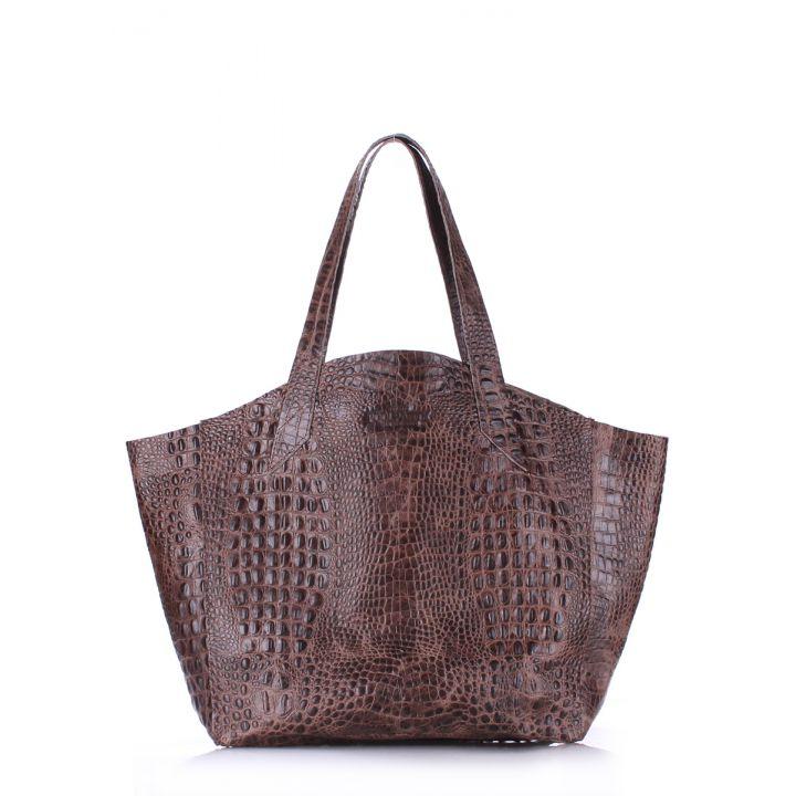Шкіряна сумка POOLPARTY Fiore, 5702