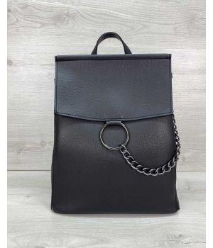 Сумка рюкзак Марио черный
