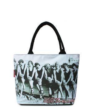 Текстильна сумка POOLPARTY з трендовим принтом, 5523