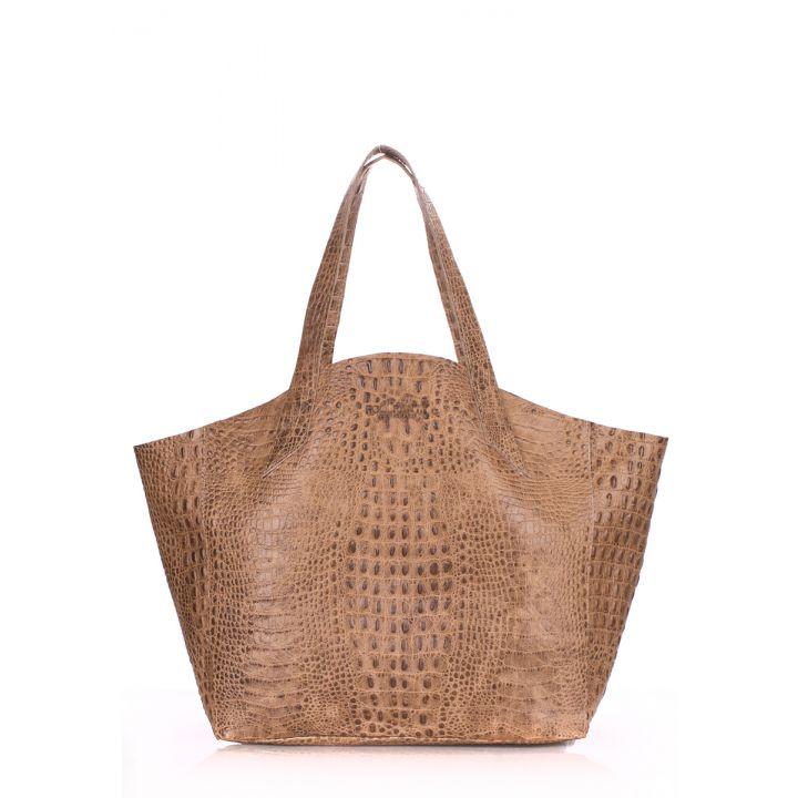 Кожаная сумка POOLPARTY Fiore, 5703
