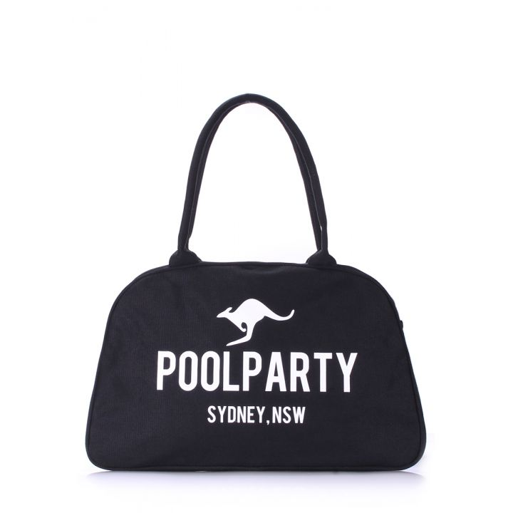Коттонова сумка-саквояж POOLPARTY