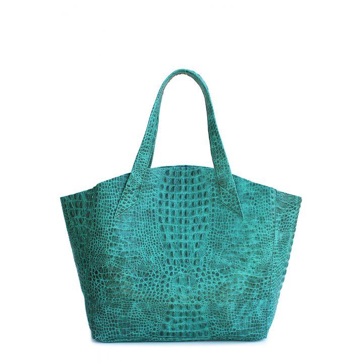 Кожаная сумка POOLPARTY Fiore, 5704