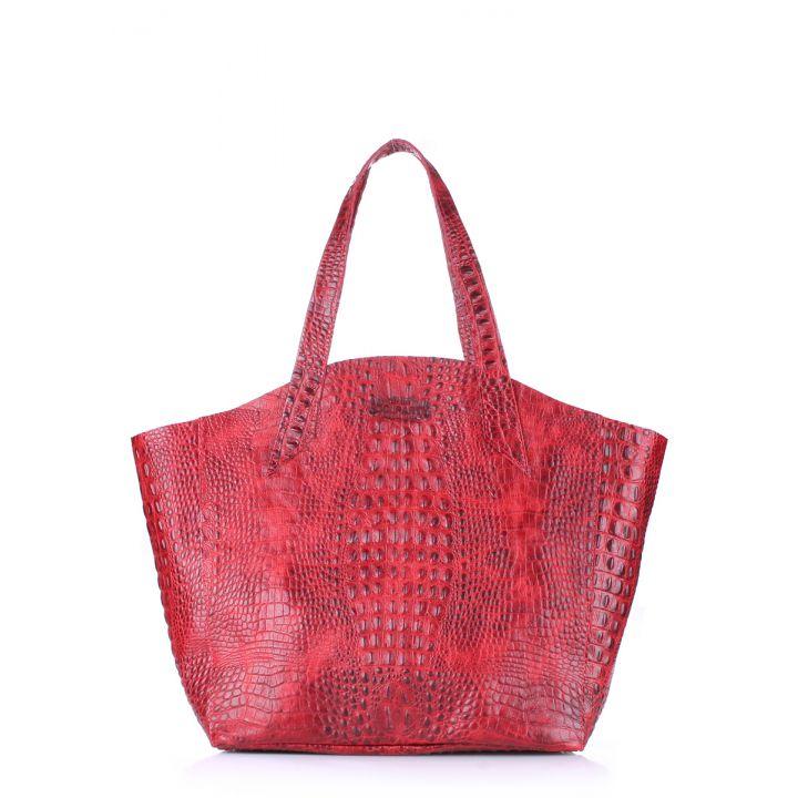 Кожаная сумка POOLPARTY Fiore, 5705