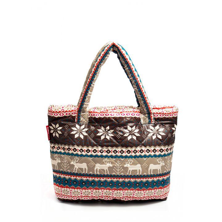 Дута сумка POOLPARTY з оленями