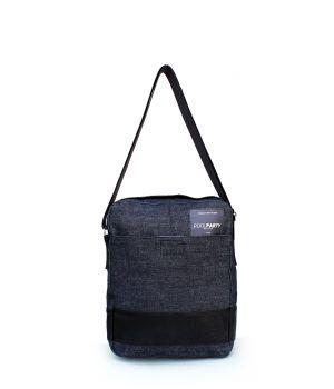 Джинсова сумка POOLPARTY з ременем, 5587