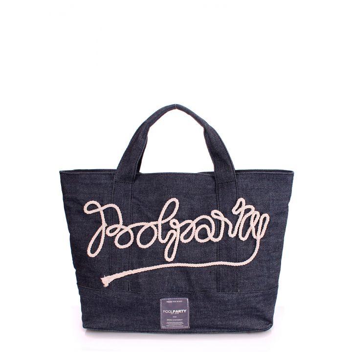 Джинсовая сумка POOLPARTY, 5577