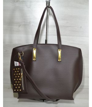 Стильна шкіряна сумка, 73038