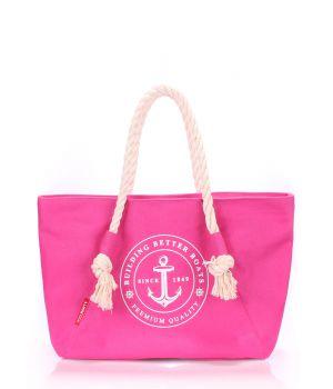 Текстильна сумка POOLPARTY з трендовим принтом, 5518