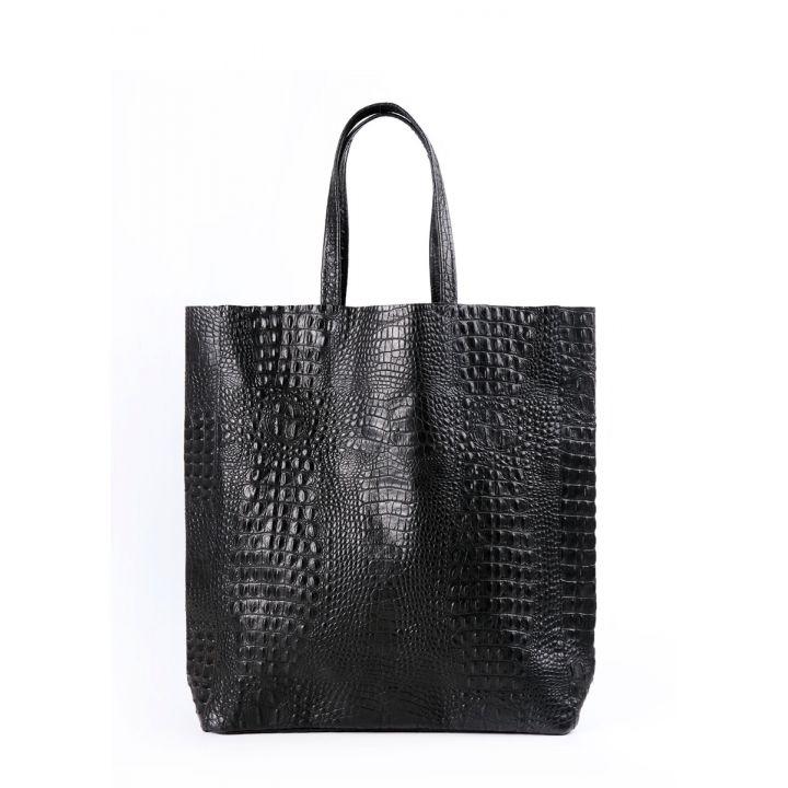 Кожаная сумка POOLPARTY City 2607