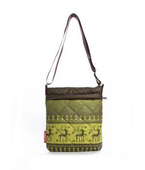 Стеганая сумка-планшет POOLPARTY с оленями