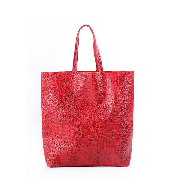 Шкіряна сумка POOLPARTY City 5659