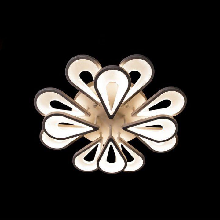 Светодиодная люстра 1674-8+4 - 1674/8+4