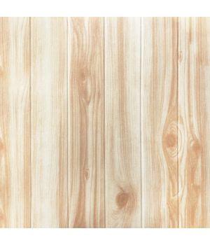 Самоклеющаяся декоративная 3D панель карамельное дерево 700x700x4мм