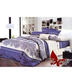 Семейный Комплект постельного белья с компаньоном R1858