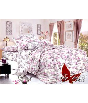 Семейный Комплект постельного белья с компаньоном S-136