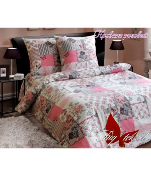 Двоспальний Комплект постільної білизни Прованс рожевий