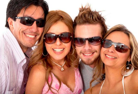 Подбираем очки в соответствии с типом лица