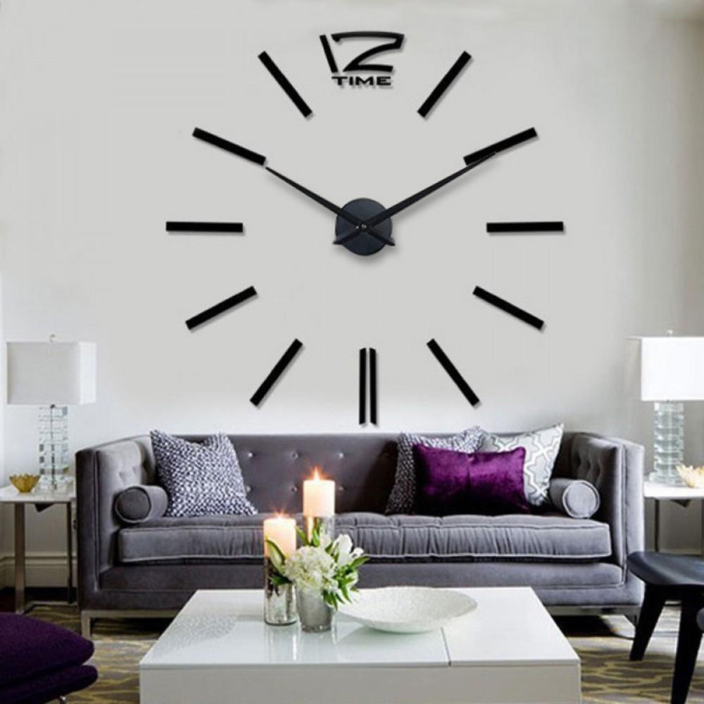 Большие часы на стене своими руками